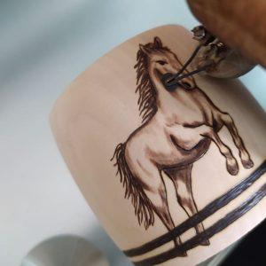 Jumping Horse Bracelet 7 Phyrogr