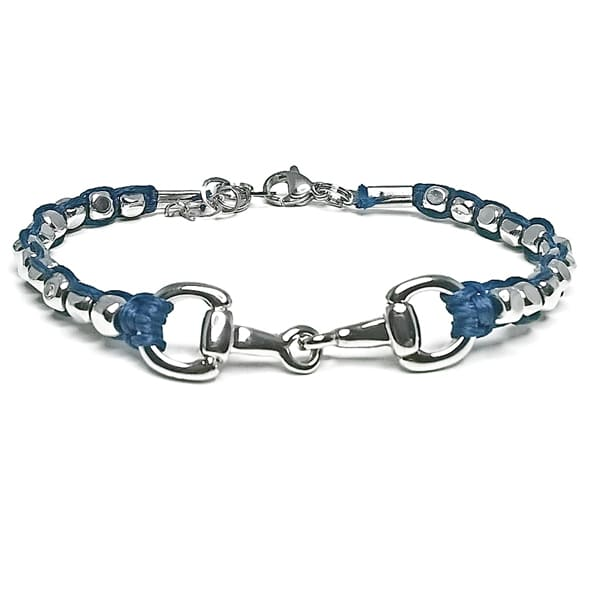 Snaffle and Little Balls 360 Bracelet