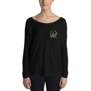 Ladies Long Sleeve Tee Club Horse