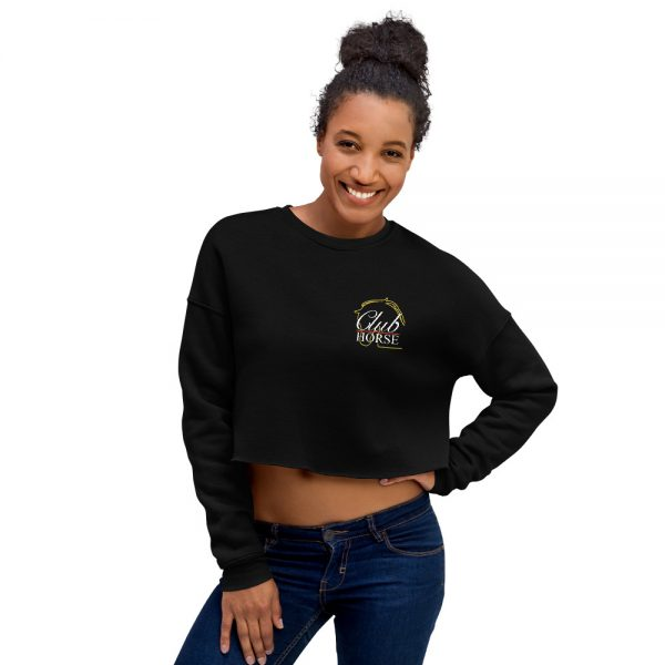Crop Sweatshirt Club Horse