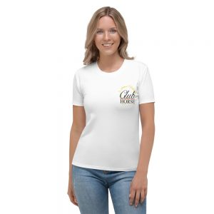 Women T-Shirt Club Horse