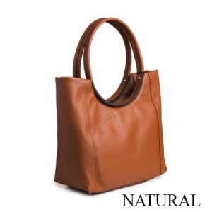 Dressage Round Handle Bag Natural