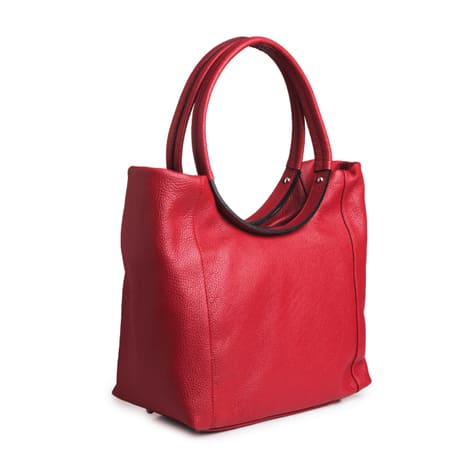 Dressage Round Handle Bag Red