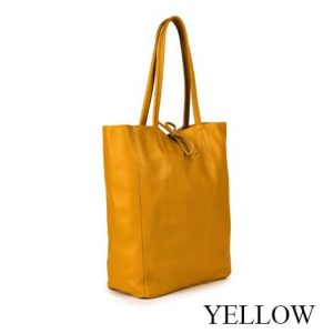 Dressage Shopping Bag Yellow
