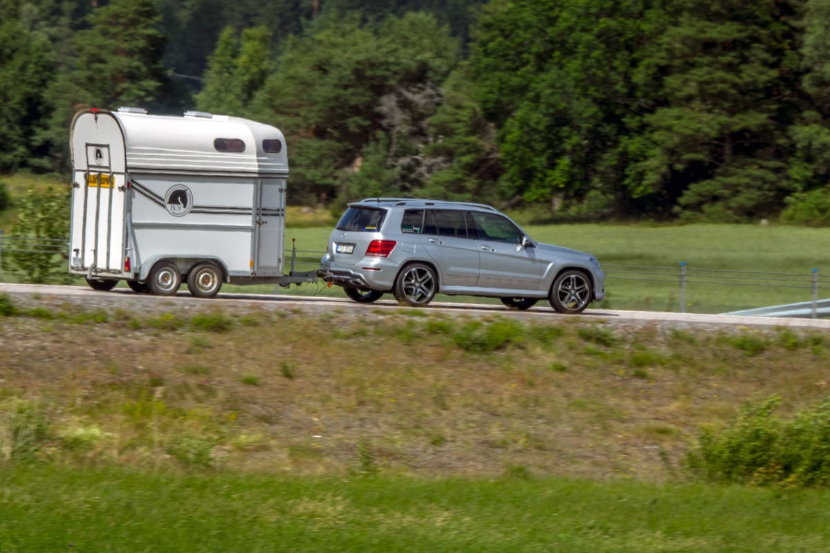 Driving with your horses trailer