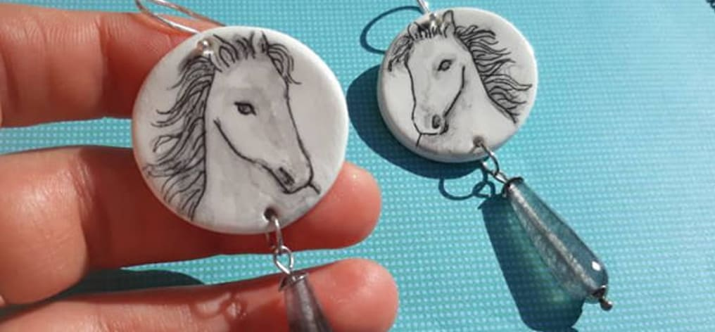 Where our horses in ceramic jewels are born