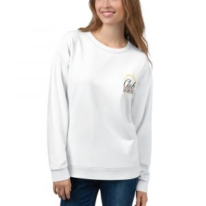 Unisex Sweatshirt White Club Horse