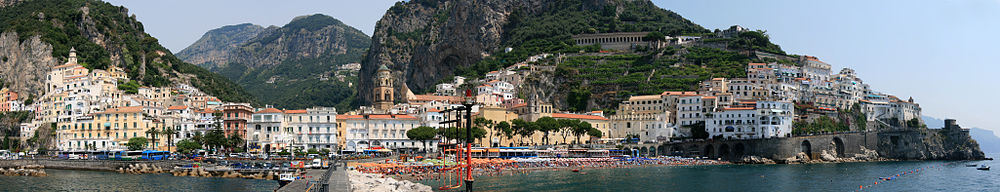Horseback riding in Amalfi Coast Landscape