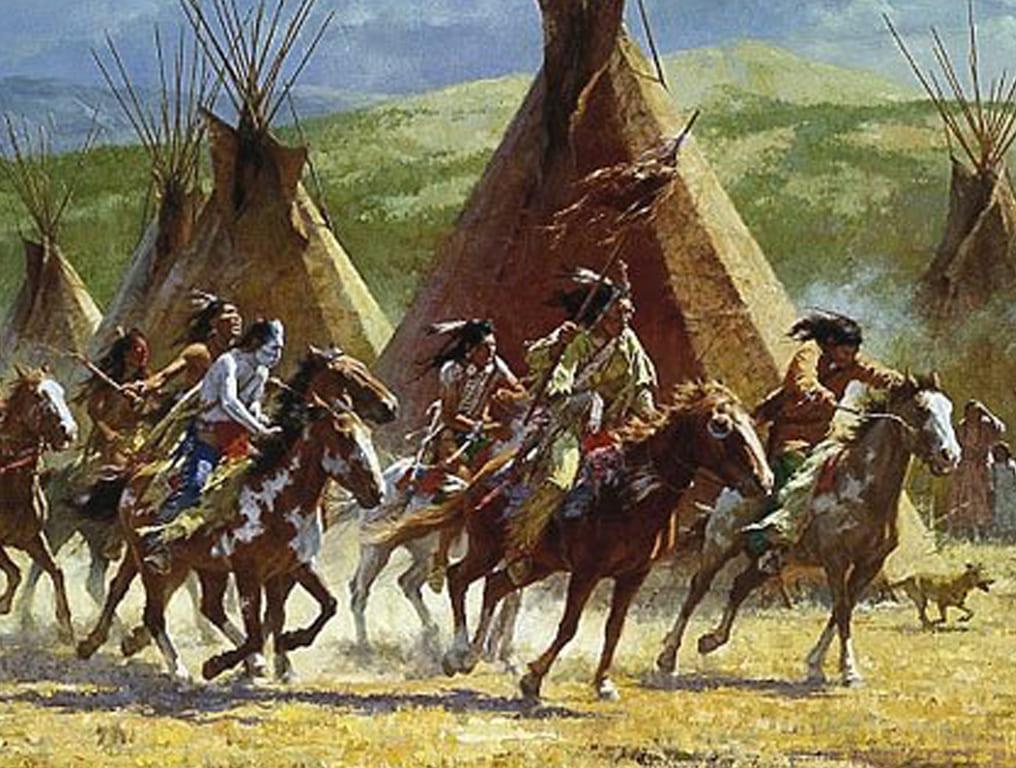Paint Horse Comanches