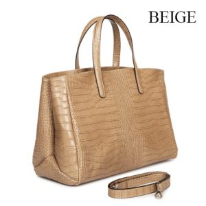 Riding Elegant Bag Beige