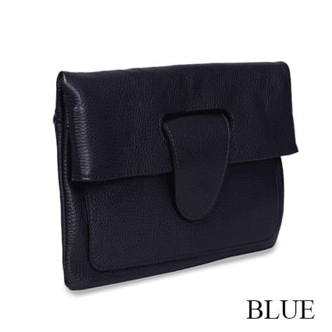 Riding Hand Bag Blue