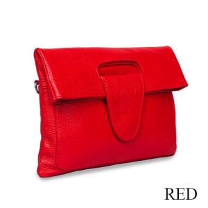 Riding Hand Bag Red