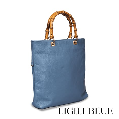 Riding Shopping Bag Light Blue