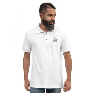 Club Horse Embroidered Polo Shirt White