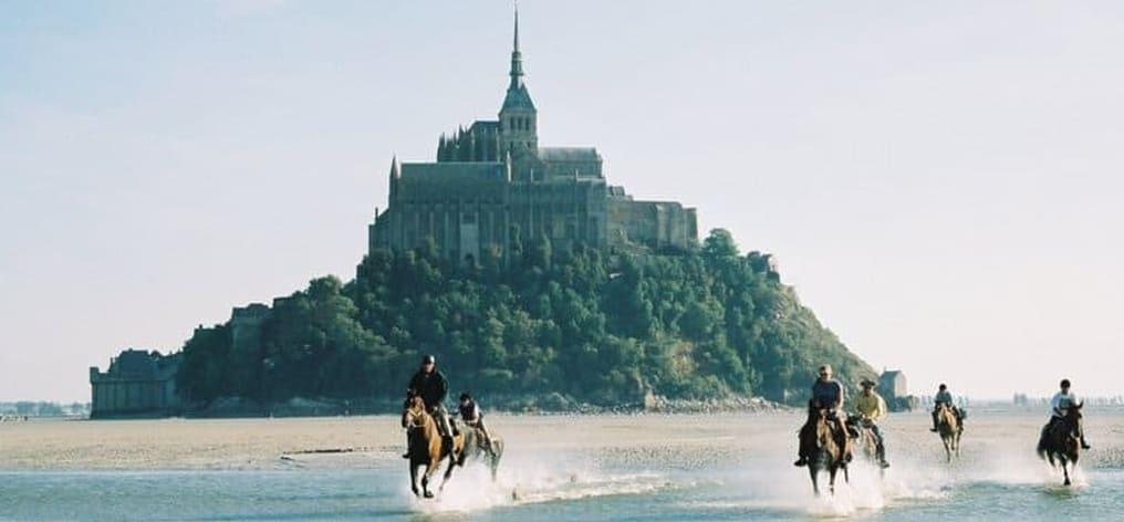 Horseback riding in Normandy
