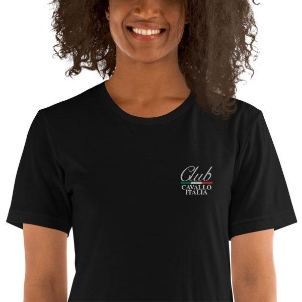 Short-Sleeve Unisex T-Shirt Club Cavallo Italia