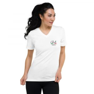 Club Cavallo Italia Unisex Short Sleeve V-Neck T-Shirt