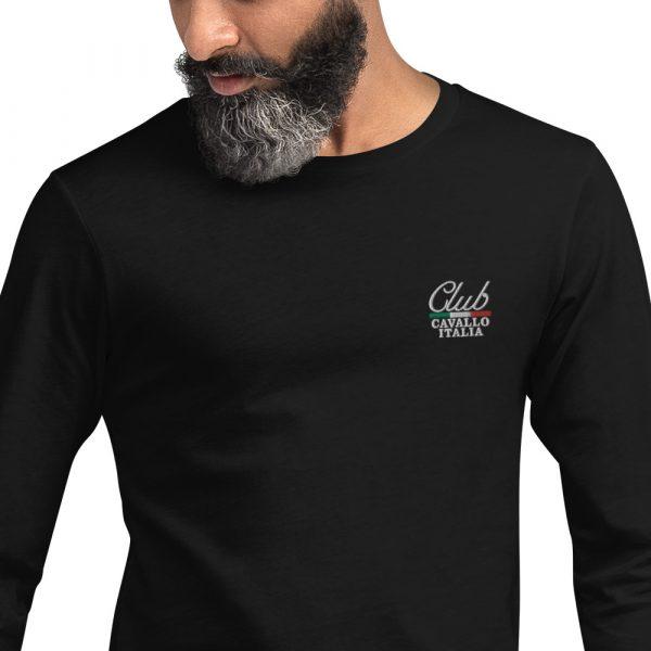 Unisex Long Sleeve Tee Club Cavallo Italia