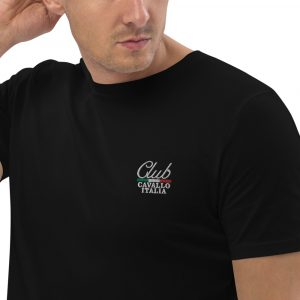 Organic Cotton T-shirt Club Cavallo Italia