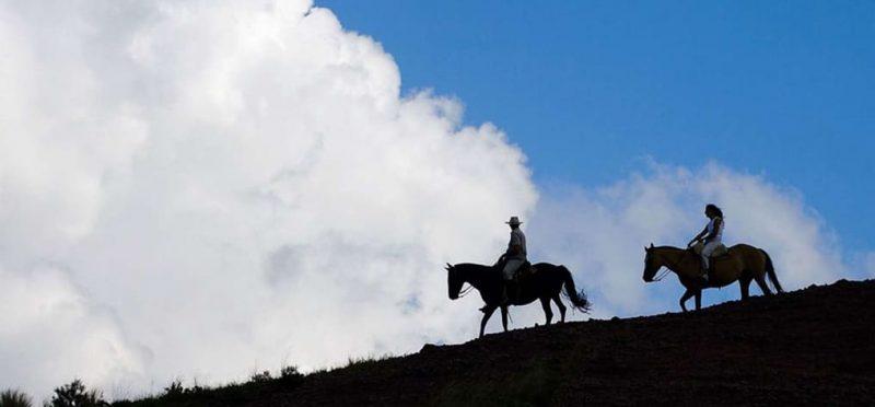 Horseback riding on the Argentario