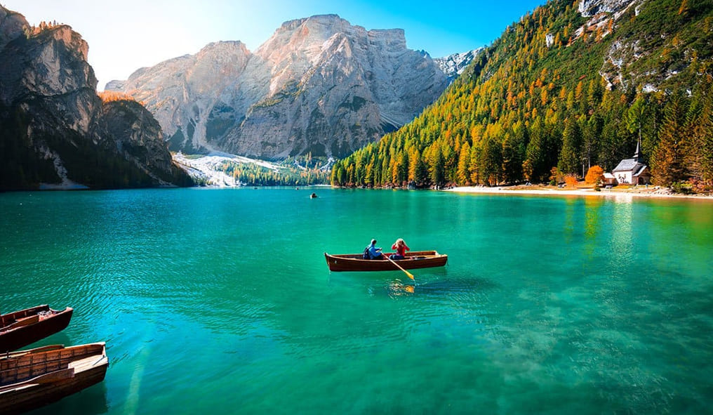 South Tyrol in the summer
