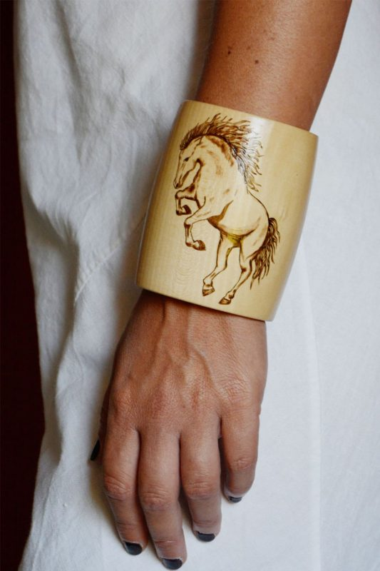 Wild Horse Bracalet 10 worn