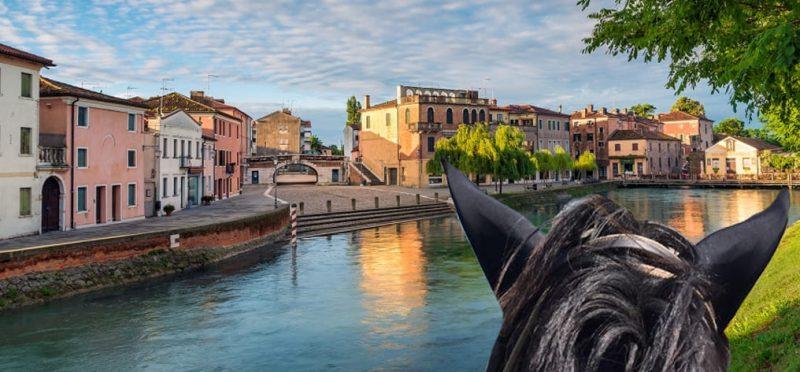 Horseback riding along the Brenta Riviera