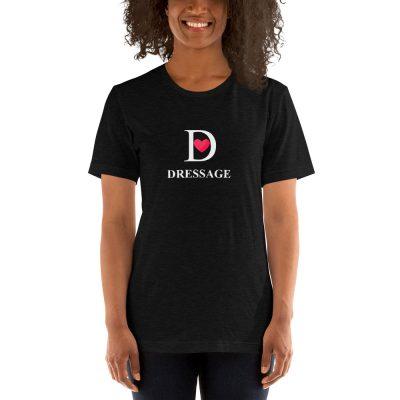 T-Shirt I love Dressage Black