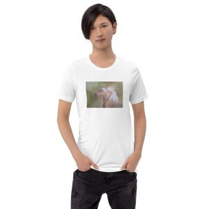 Unisex T-Shirt with a Painted Horse