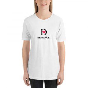 T-Shirt I love Dressage White