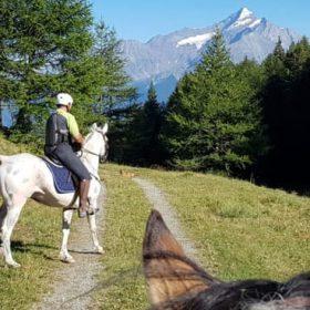 Horseback Riding in the Aosta Valley