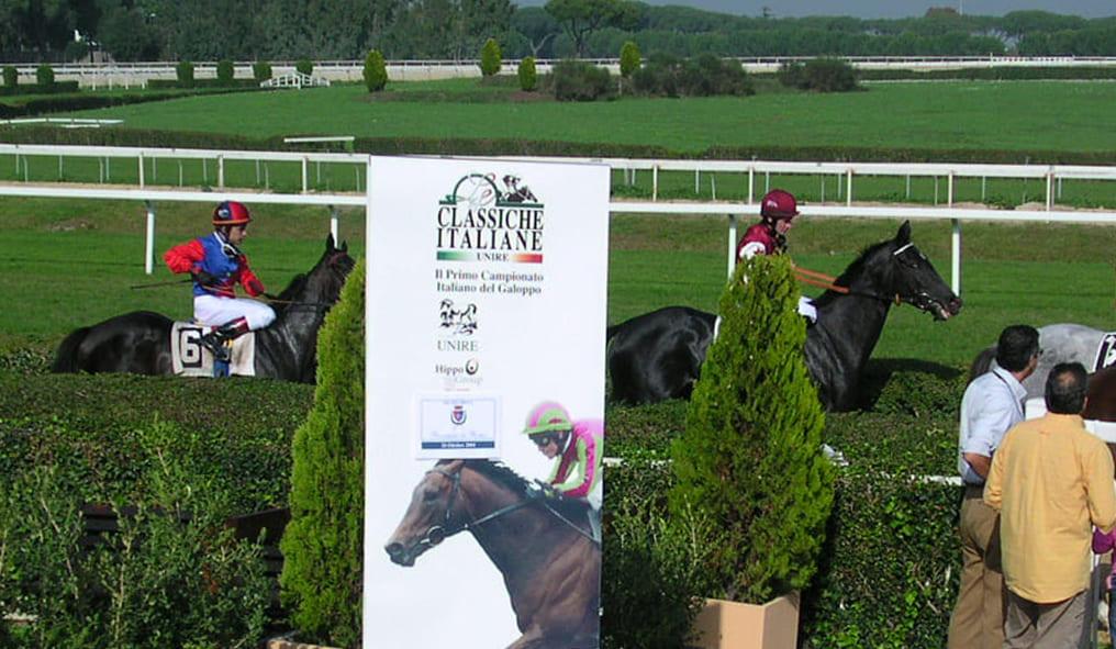 Italian Gallop Championship hippodrome