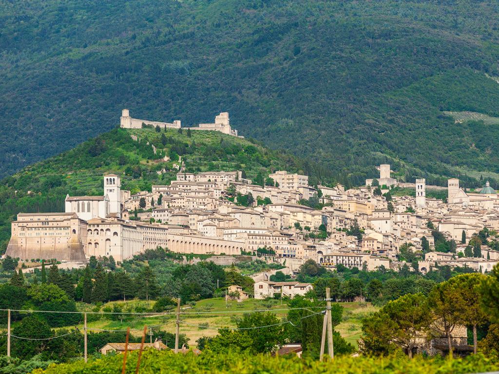 Horseback riding in Assisi 3