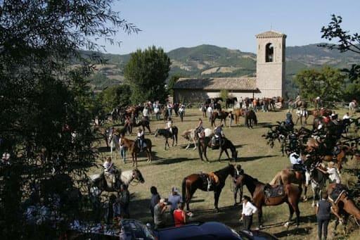 Horseback riding in Assisi Cavalcata di Satriano