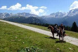 Horseback Riding in Madonna di Campiglio Prati
